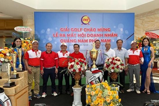 Giải Golf QNB 2019 do Hội Doanh nhân Quảng Nam phía Nam tổ chức. Ảnh: H.P
