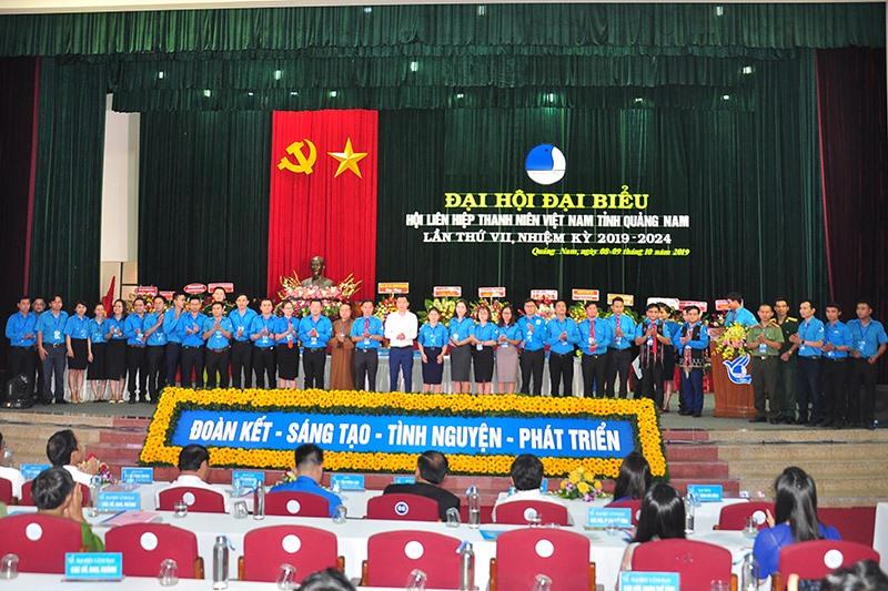 Ra mắt Ủy ban Hội Liên hiệp Thanh niên Việt Nam tỉnh Quảng Nam. Ảnh: VINH ANH