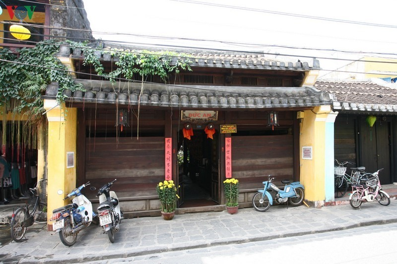 This house is located at 129 Tran Phu street, the center of Hoi An ancient town. It was built nearly 190 years ago.
