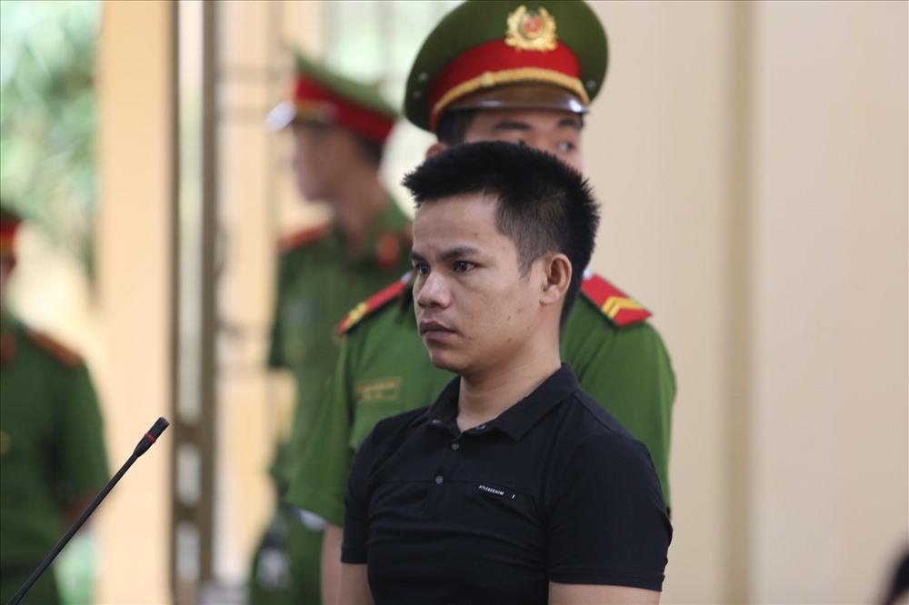 Bị cáo Phạm Tuấn tại tòa. Ảnh: T.C