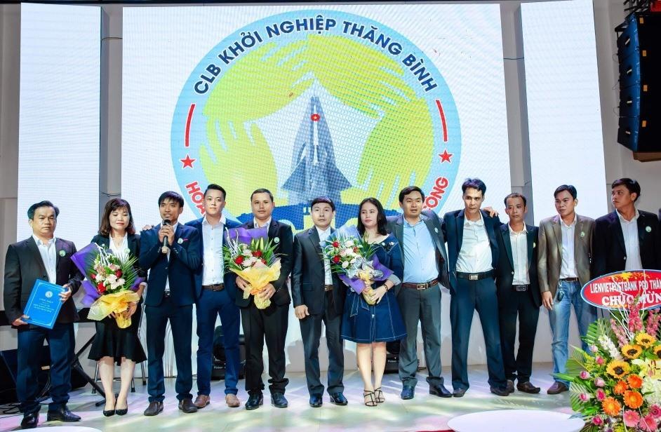 Ra mắt Câu lạc bộ Khởi nghiệp huyện Thăng Bình. Ảnh: S.T