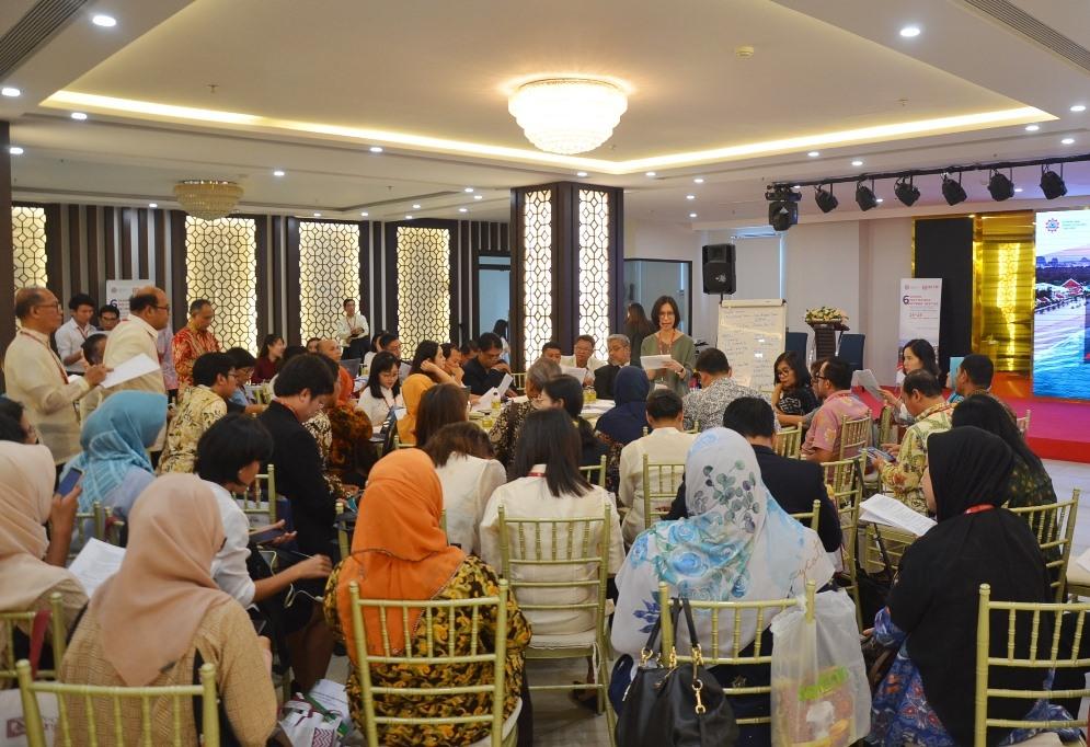 Quang cảnh Hội nghị SEAMEO lần đầu tiên tại Đà Nẵng. Ảnh: N.T.B