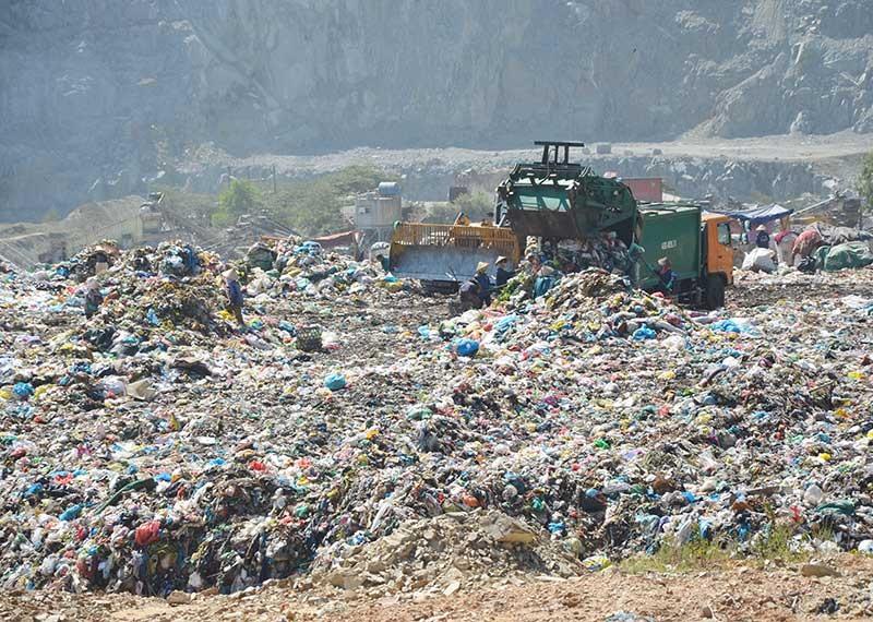 Rác thải nhựa đang là vấn đề quan tâm của nhiều địa phương trên địa bàn tỉnh. Ảnh: T.H