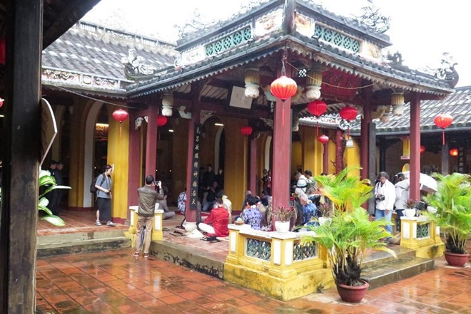 This house was embellished in 1817. Photo: thanhnien.vn