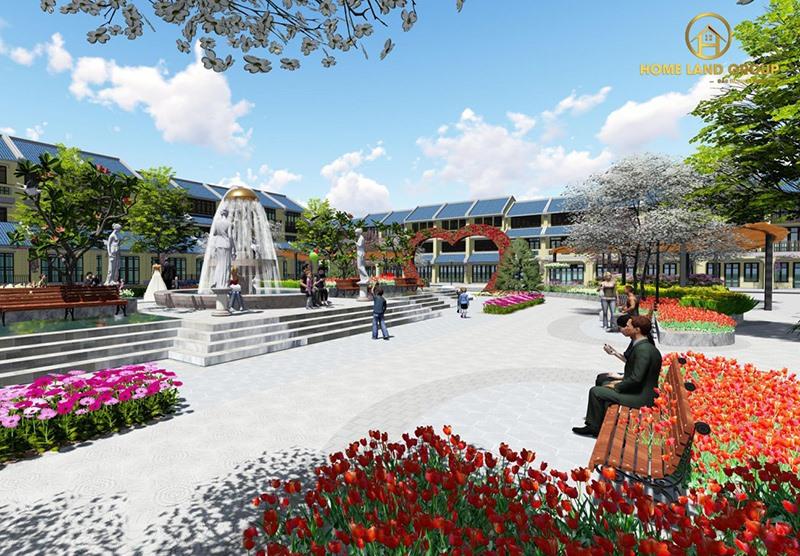 Homeland Paradise Village - khu đô thị thông minh 4.0 đầu tiên tại Đô thị mới Điện Nam - Điện Ngọc đang được xây dựng hoàn thiện. Ảnh: N.T.B