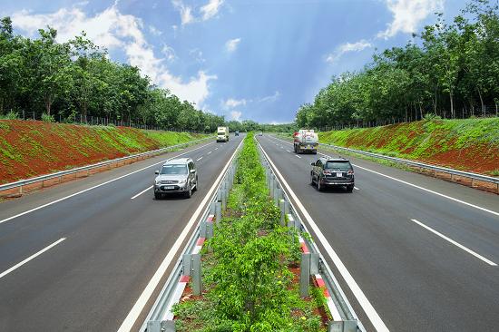 Cao tốc TP.Hồ Chí Minh - Long Thành - Dầu Giây là tuyến chiếm số lượng lớn lưu lượng phương tiện lưu thông. Ảnh do VEC cung cấp