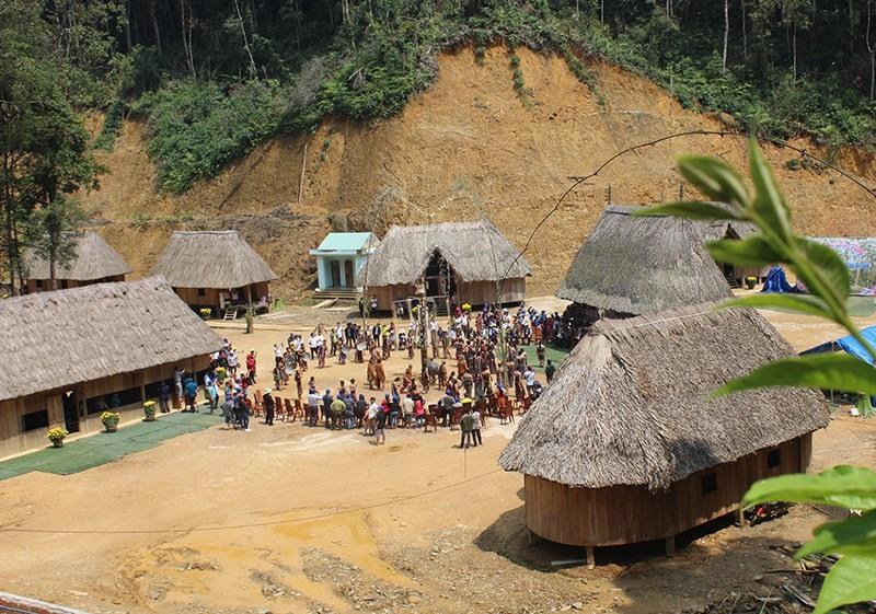 Pomu ancient village, a famous tourism destinationin Tay Giang.
