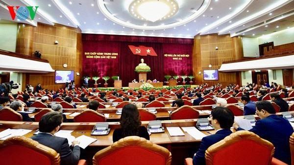 Hội nghị Trung ương 11 diễn ra vào đầu tháng 10 được xem là bước tạo đà quan trọng cho Đại hội lần thứ XIII của Đảng. Ảnh: VOV