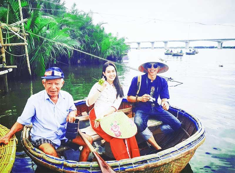 Du lịch dựa vào cộng đồng giúp diện mạo nông thôn mới ở xã Cẩm Thanh (TP.Hội An) khởi sắc rõ rệt. Ảnh: S.T