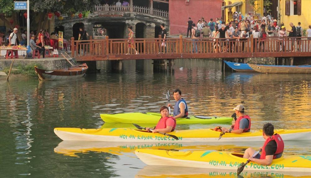Hoai river, Hoi An city. Photo: internet
