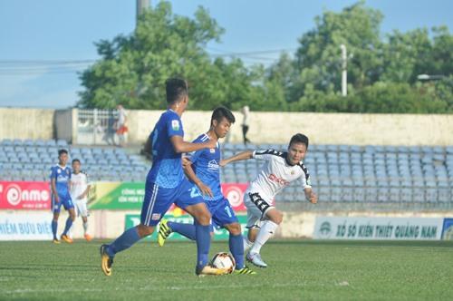 Quảng Nam và Hà Nội sẽ gặp nhau ở trận chung kết Cúp quốc gia 2019 tại Tam Kỳ. Ảnh: T.V
