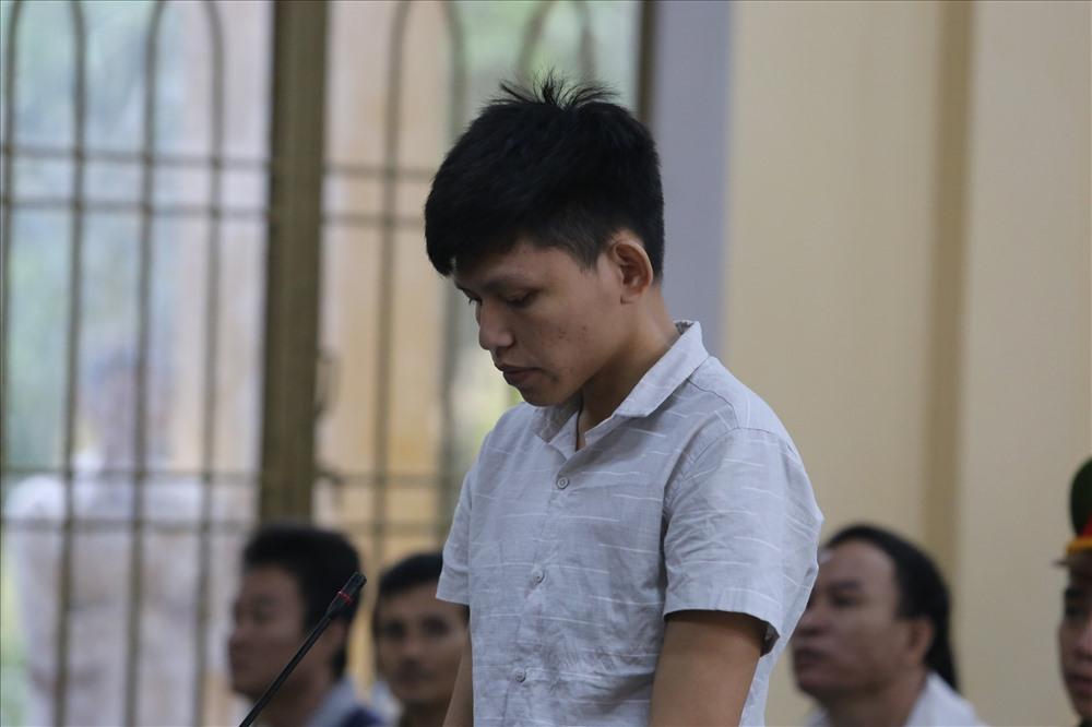 Bị cáo Hồ Văn Tâm tại tòa. Ảnh: T.S