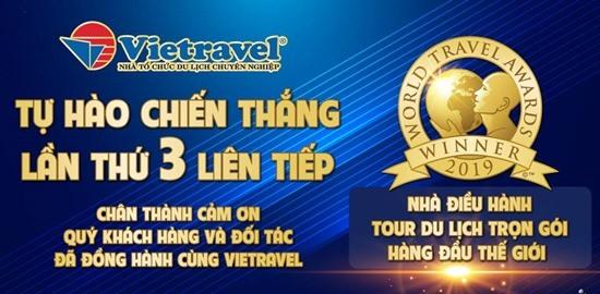 Vietravel - nhà điều hành tour du lịch trọn gói hàng đầu thế giới.