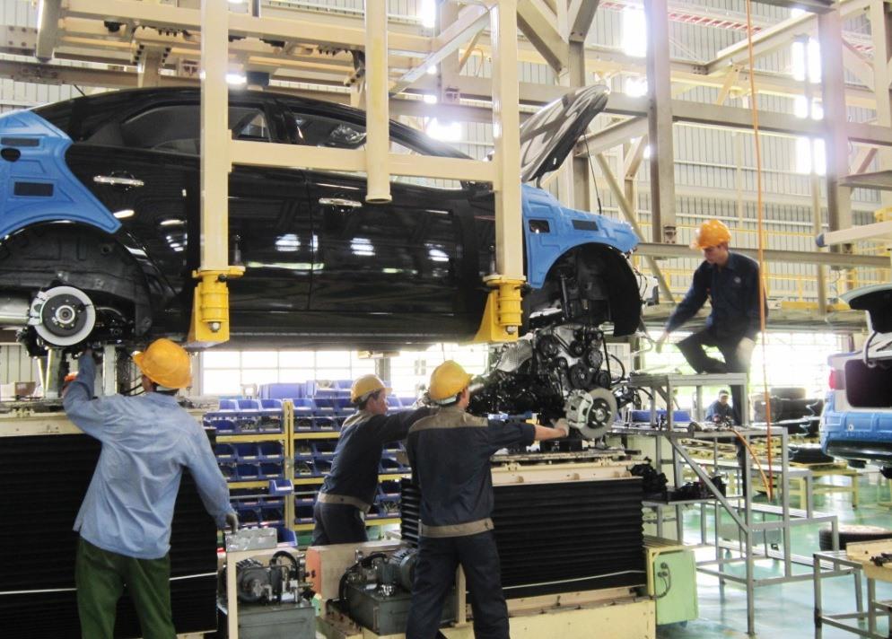 Ngành công nghiệp chế biến - chế tạo có IIP tăng trong 11 tháng đầu năm 2019. Ảnh: C.N
