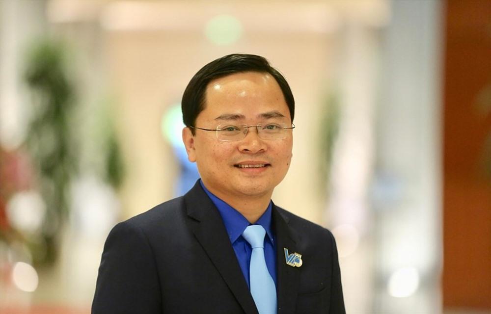 Anh Nguyễn Anh Tuấn giữ chức Chủ tịch Ủy ban Trung ương Hội LHTN Việt Nam khóa VIII, nhiệm kỳ 2019 - 2024. Ảnh: doanthanhnien.vn