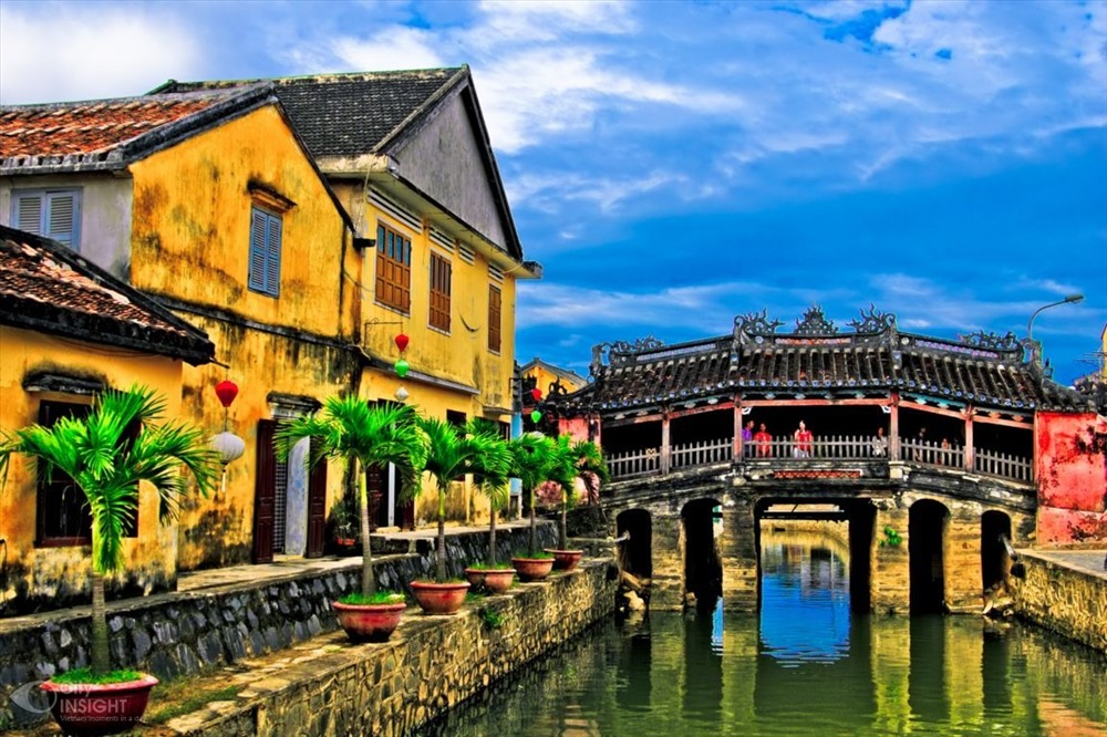 Japanese Bridge, Hoi An ancient town. Photo: vacne.org.vn