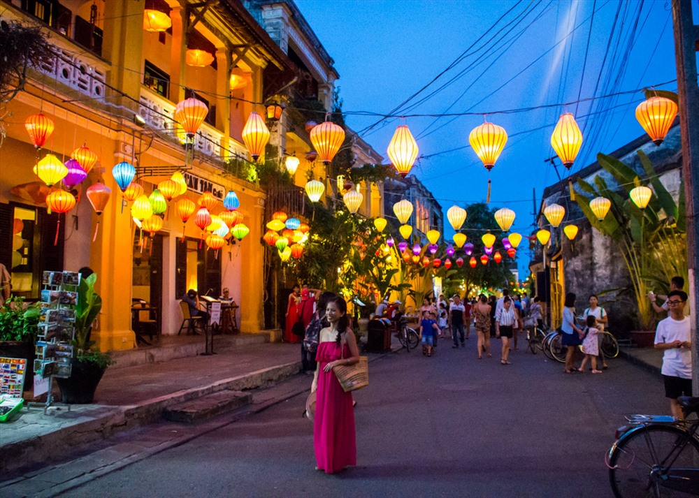 A lot of visitors to Hoi An ancient town