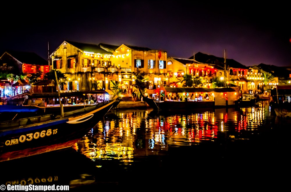 Hoi An at night. Photo: gettingstamped