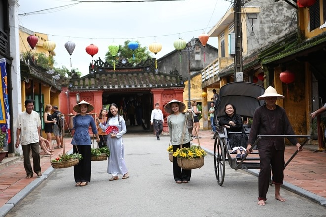 Japanese Bridge in Hoi An ancient quarter. Photo: cand