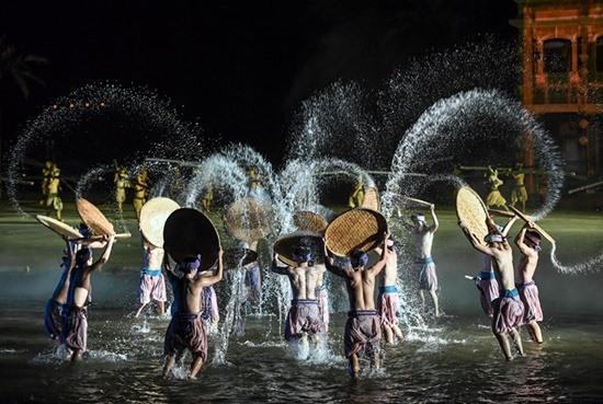 Ký ức Hội An là một trong những show diễn thực cảnh đẹp nhất Việt Nam. Ảnh: K.L