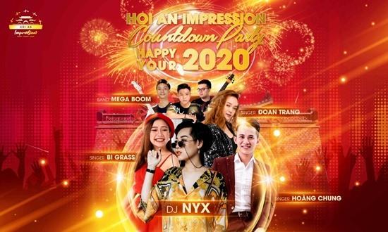 """Đại nhạc hội """"Hoi An Impression Countdown Pary - Happy Your"""" chào đón năm mới 2020 sẽ mang đến nhiều ấn tượng cho du khách. Ảnh: K.L"""