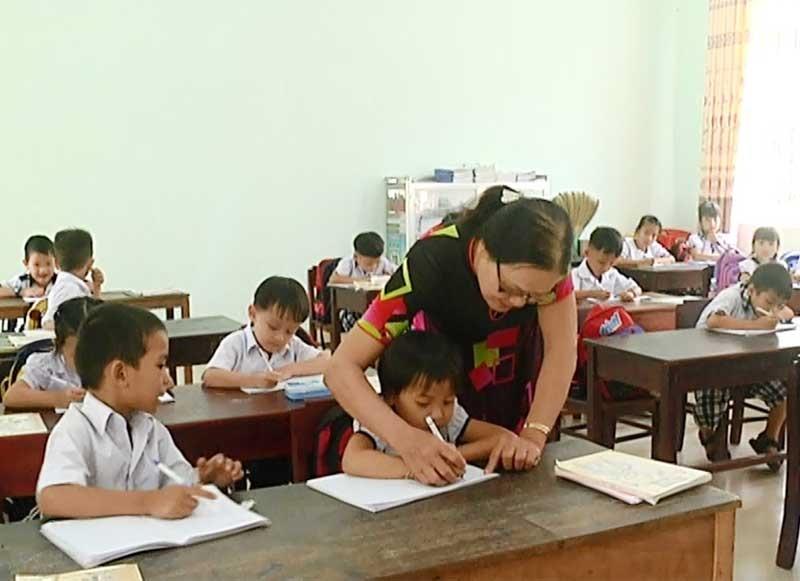 Sắp xếp trường lớp tạo điều kiện nâng cao chất lượng dạy và học.