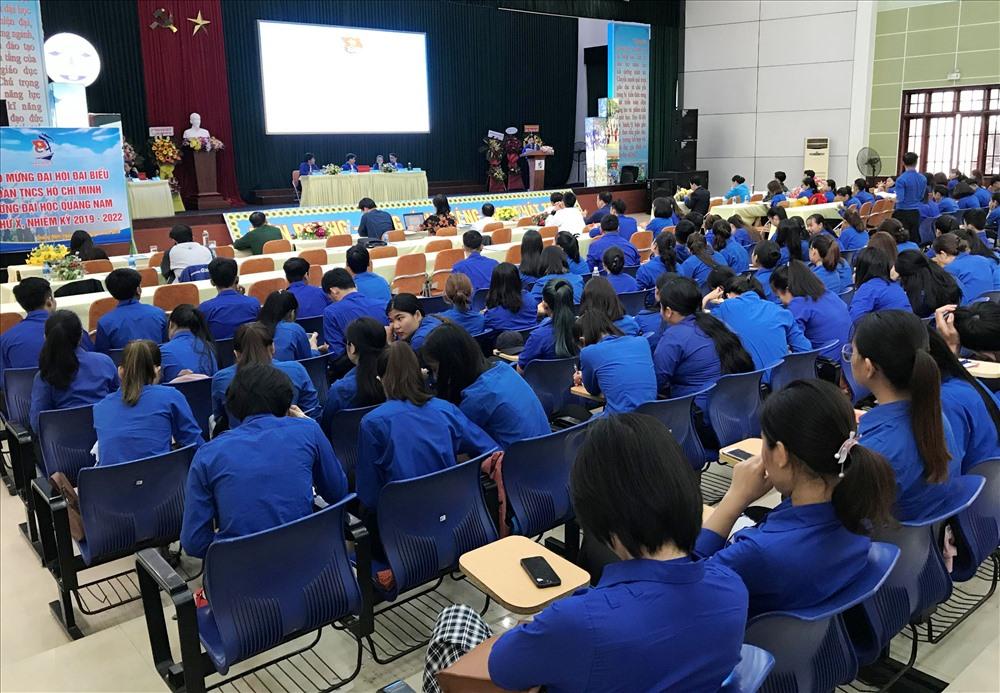 Đại hội Đoàn trường Đại học Quảng Nam nhiệm kỳ 2019 - 2022