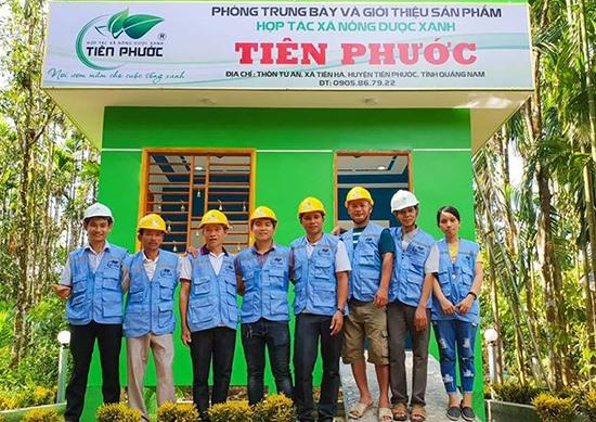 Nhiều người trẻ ở Tiên Phước quyết tâm về quê lập thân, khởi nghiệp. Ảnh: Đ.H