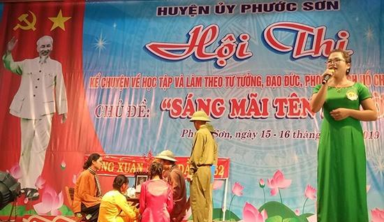 Phước Sơn vừa tổ chức cuộc thi viết và thi kể chuyện về thực hiện học tập và làm theo tư tưởng, đạo đức, phong cách Hồ Chí Minh.