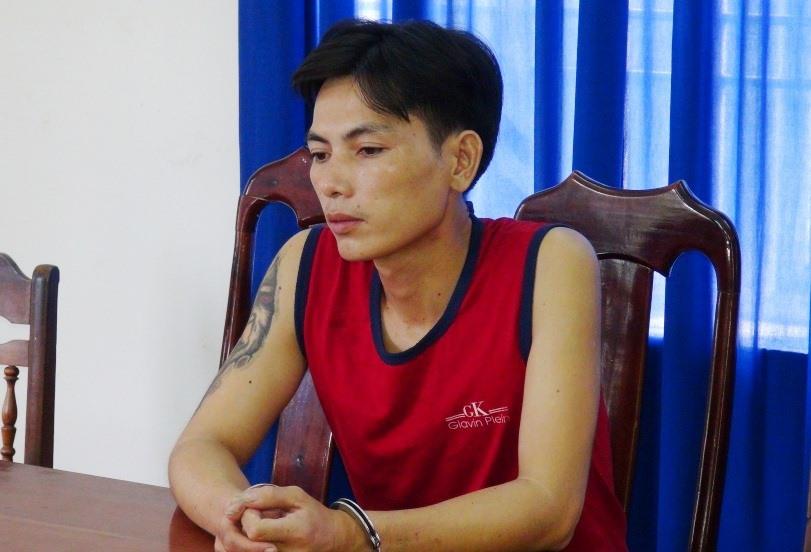 Đối tượng Trần Quang Bình. Ảnh: XUÂN MAI