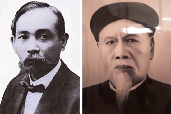 Phan Châu Trinh               Lương Khắc Ninh