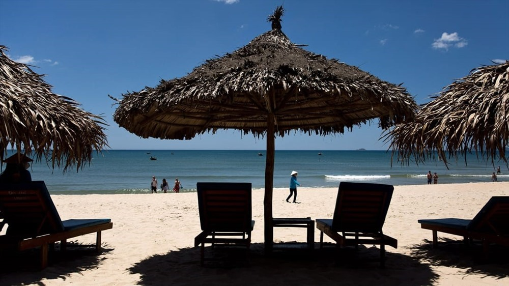 A beach in Hoi An (Photo: CNN)