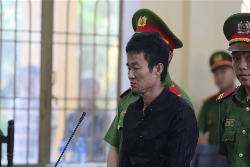 Đối tượng Việt tại phiên tòa. Ảnh: T.C