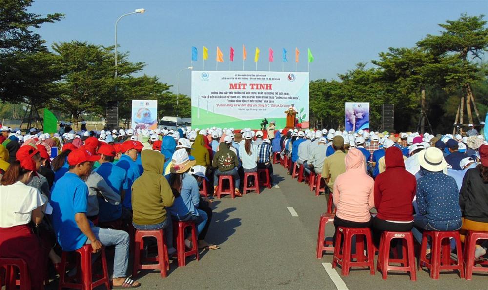 The meeting. Photo: baotainguyenmoitruong