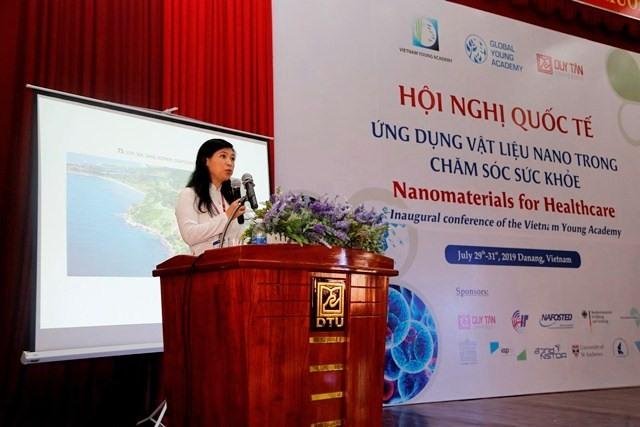 GS. Nguyễn Thị Kim Thanh phát biểu khai mạc hội nghị. Ảnh: N.T.B