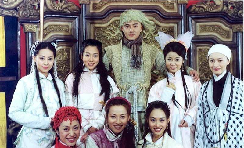 Vi Tiểu Bảo và bảy bà vợ trong phim Lộc Đỉnh Ký.