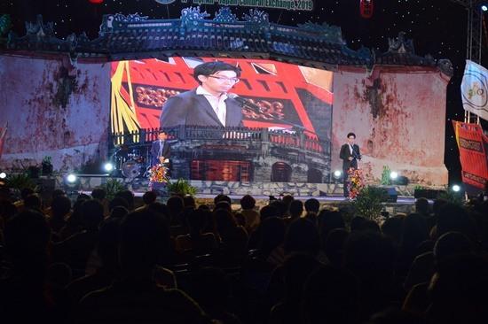 Phát biểu tại lễ bế mạc, ông Matsuda Yuuki - Bí thư thứ hai Ban Văn hóa, Đại sứ quán Nhật Bản tại Việt Nam đánh giá cao ý nghĩa của sự kiện.