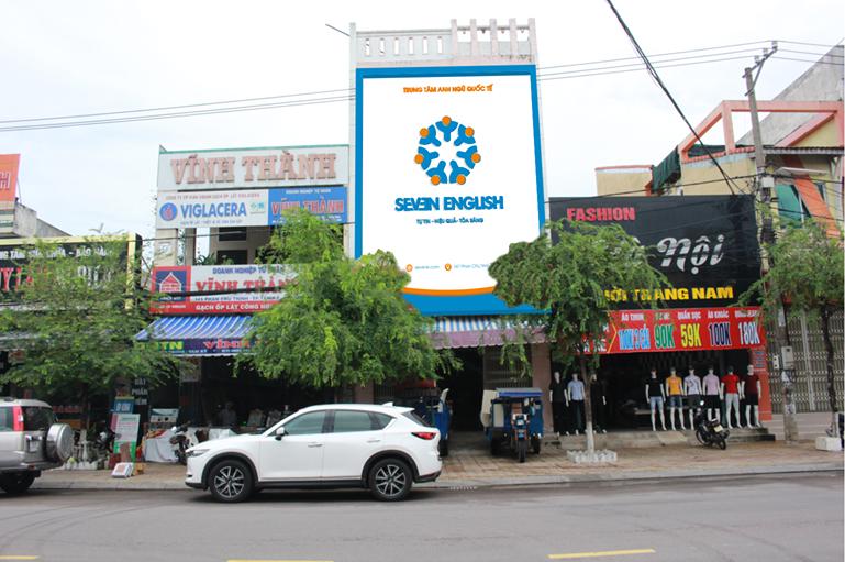 Trung tâm Anh ngữ quốc tế Seven English sắp khai trương tại 147 Phan Châu Trinh (TP.Tam Kỳ). Ảnh: P.V