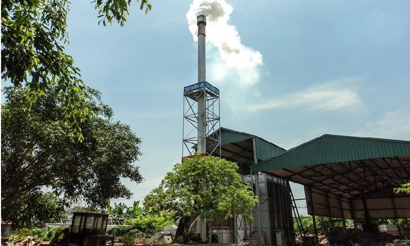 Hệ thống xử lý khói thải được khử bụi, khử các khí độc và có tuổi thọ cao.