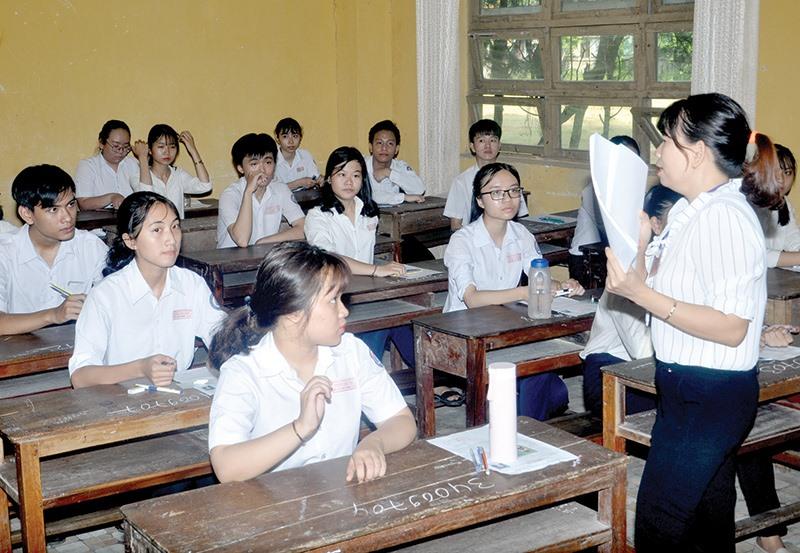 Những đổi mới góp phần nâng cao chất lượng giáo dục. Ảnh: X.P