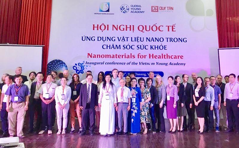 Trường Đai học Duy Tân thường xuyên đăng cai các hội nghị khoa học trong nước và quốc tế. Ảnh: N.T.B