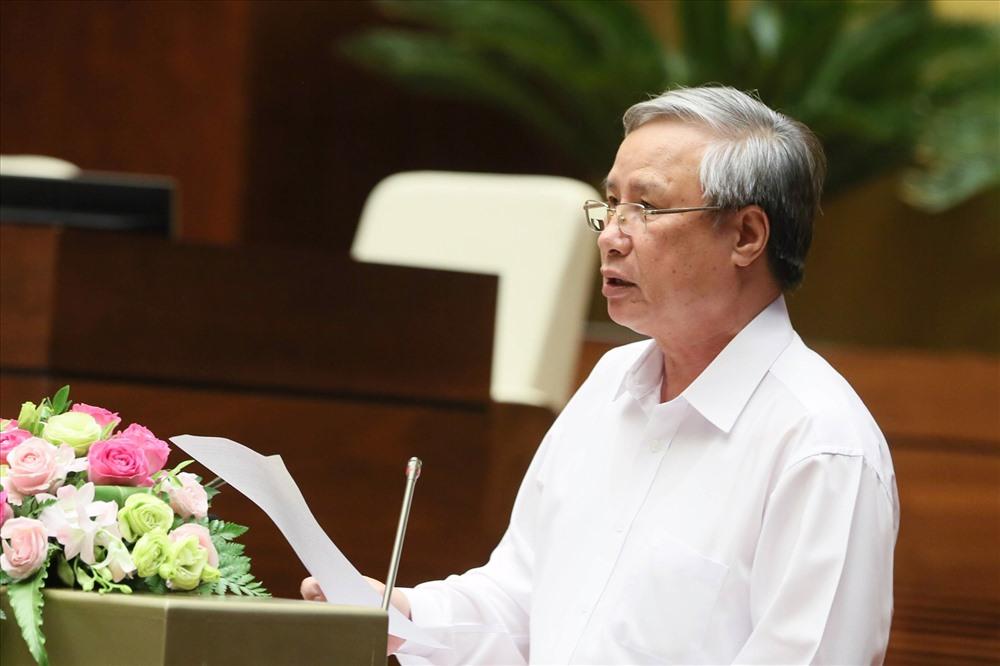 Thường trực Ban Bí thư Trần Quốc Vượng phát biểu tại hội nghị. Ảnh: chinhphu.vn