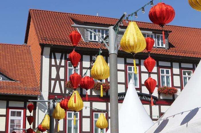 Đèn lồng Hội An thắp sáng tại Wernigerode