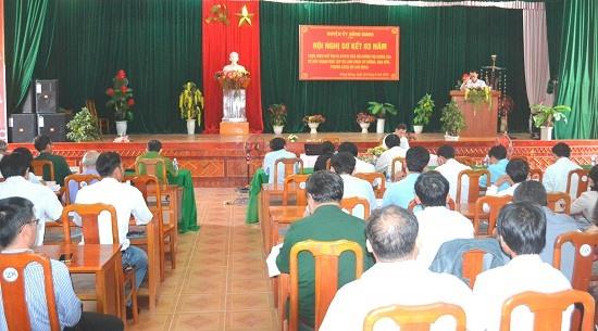 Hội nghị diễn ra trong thời điểm kỷ niệm 50 năm thực hiện Di chúc Bác Hồ. Ảnh: C.T