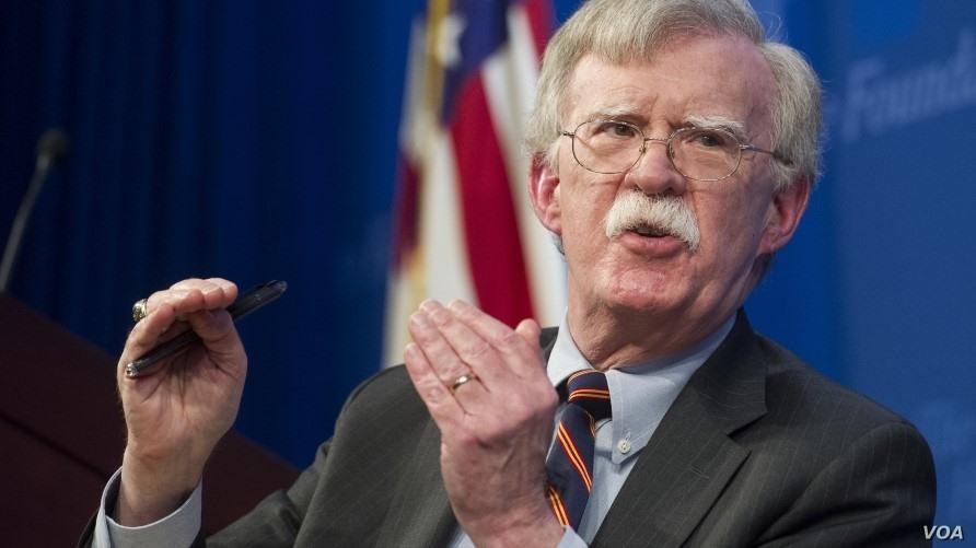 Trump's Security Advisor John Bolton. Photo: AP