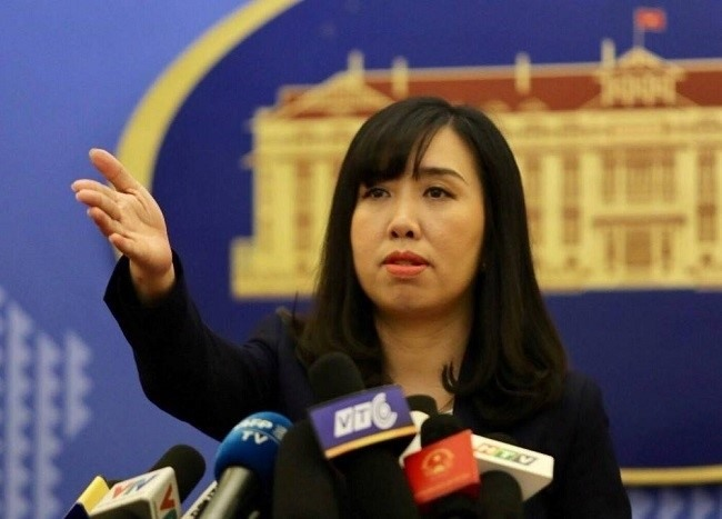 Vietnamese spokeswoman Le Thi Thu Hang. Photo: en.nhandan.org