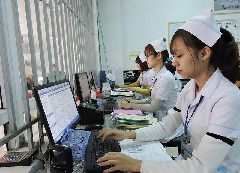 Bệnh viện Đa khoa miền núi phía Bắc đã trang bị hoàn thiện hệ thống máy móc để chuẩn bị vận hành chương trình Bệnh viện thông minh - bệnh án điện tử 4.0. Ảnh: X.H