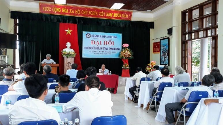 Đại hội Chi hội NSNA Việt Nam tại Quảng Nam nhiệm kỳ 2019 - 2024. Ảnh: P.C.A