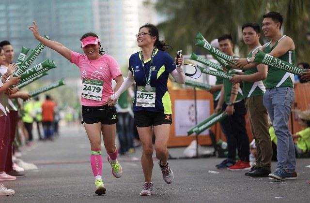VĐV tham dự cuộc thi Marathon quốc tế Đà Nẵng 2018. Ảnh: NGUYỄN ĐẮC
