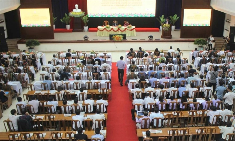 Hơn 200 đại biểu trong nước và quốc tế tham dự hội nghị. Ảnh: X.H